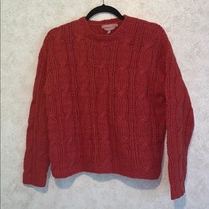 Easel dean & dimonda chunky hand knit sweater